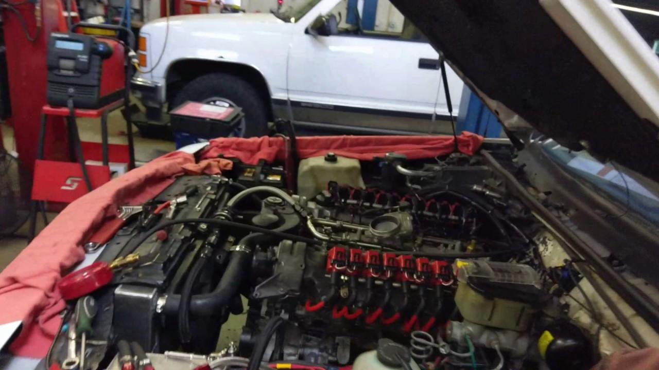 87 Buick T-type Mercedes m275 v12 swap start