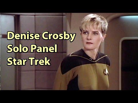 Denise Crosby Panel Phoenix Comicon Fan Fest Star Trek TNG