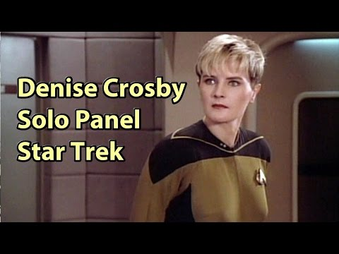 Denise Crosby Panel Phoenix Comicon  Fest Star Trek TNG