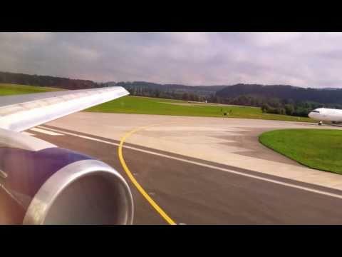 Delta 767-300ER Takeoff at Zurich/Kloten Airport, Switzerland