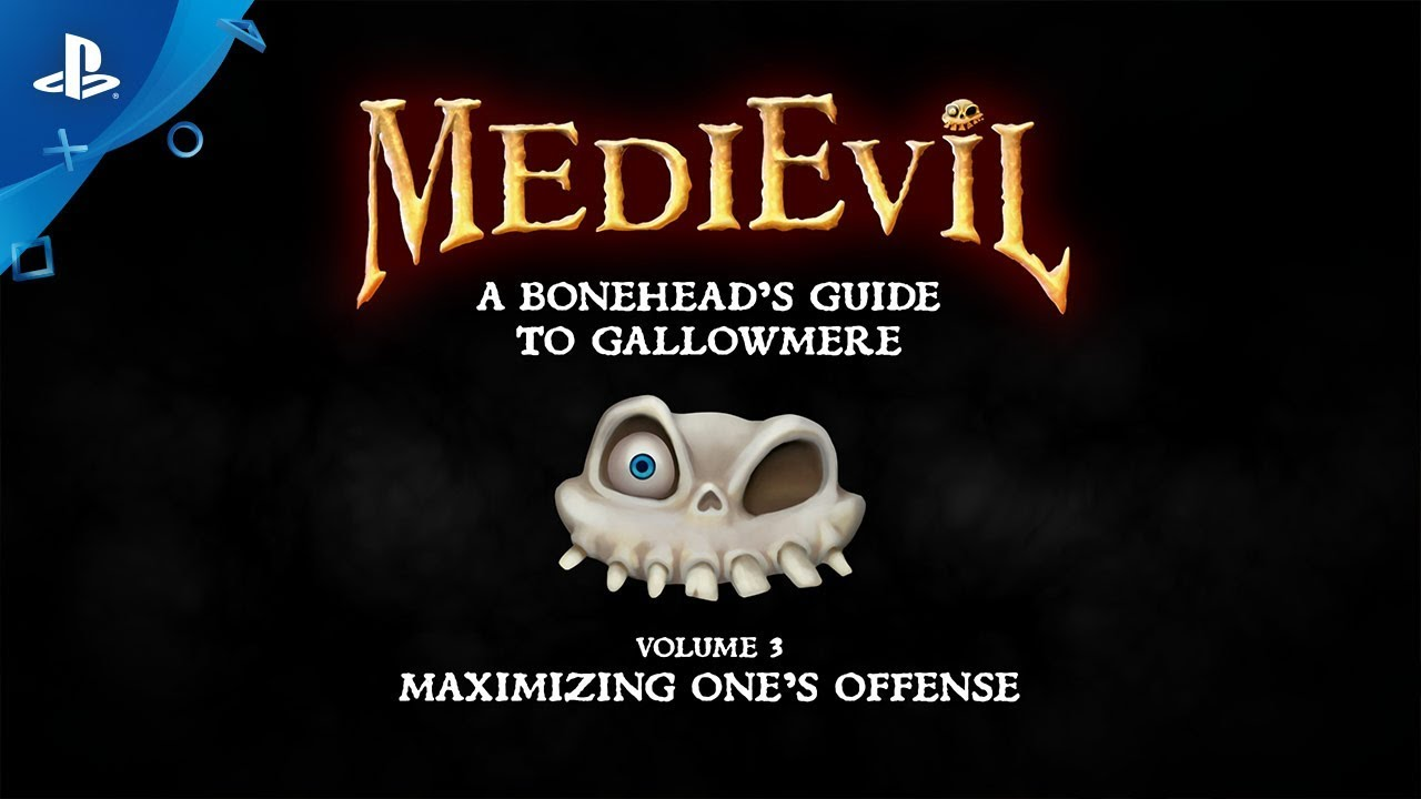 MediEvil - A Boneheads Guide to Gallowmere: Maximizing One's Offense  | PS4