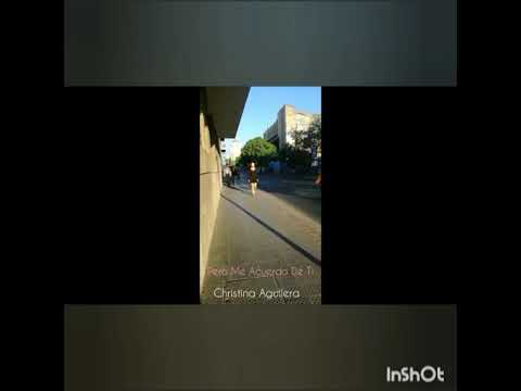 Video Clip. Christina Aguilera-  Pero me acuerdo de ti