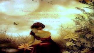 Sarah Geronimo - I Want To Know What Love Is (Lyrics)