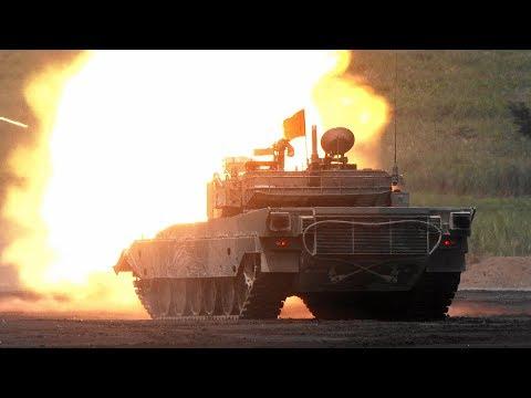 """[報道エリアで撮影] Japan Ground Self-Defense Force / JGSDF """"FIRE POWER 2017 in FUJI"""" 平成29年度 富士総合火力演習 前段演習"""
