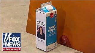GOP put Kamala Harris' face on milk carton in response to absence on border