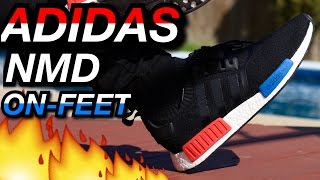 og adidas nmd w on feet review