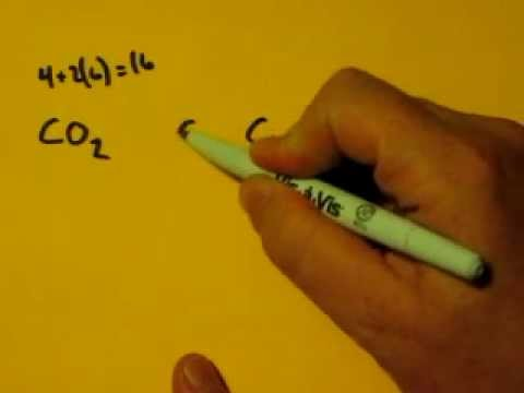 Lewis Dot Structure Of Co2 Carbon Dioxide Youtube