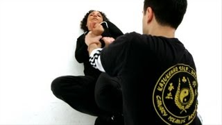 How to Escape being Pinned to the Floor | Self-Defense