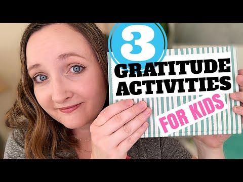 3 EASY GRATITUDE Activities for Kids