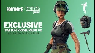 HOW TO GET TWITCH PRIME FREE SKINS IN FORTNITE BATTLE ROYALE! NEW Twitch Prime Pack