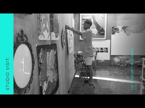 "OPPO Art Jakarta Virtual 2020 - Studio Visit: Uji ""Hahan"" Handoko"