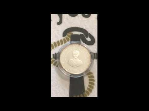 1994 Barbados Siver $1 Dollar