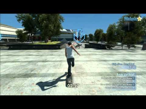Skate 3 - Trick List Trial