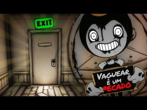 A CAVE SECRETA DO BENDY!!! UMA PORTA SECRETA!!! | Bendy and the Ink Machine Chapter 3