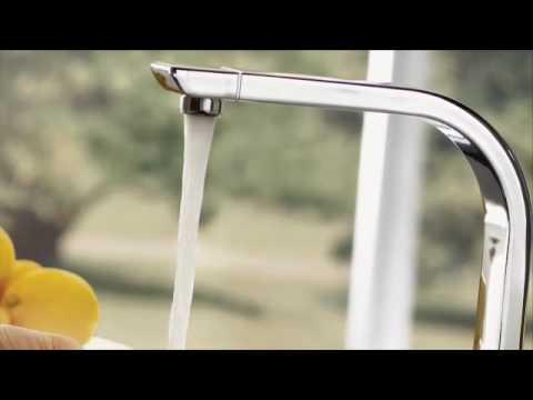 Moen 90 Degree Kitchen Faucet CA7170   YouTube
