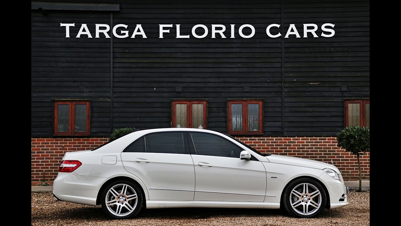 Mercedes E350 Cdi Blueefficiency Amg Sport Automatic In