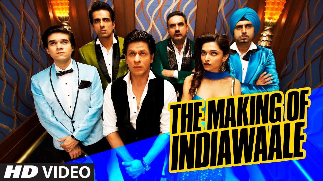 exclusive making of india waale happy new year shah rukh khan deepika padukone t series youtube