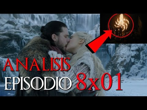 Análisis Game Of Thrones - Episodio 1 Temporada 8 'Winterfell' || Lo que NO viste ❄