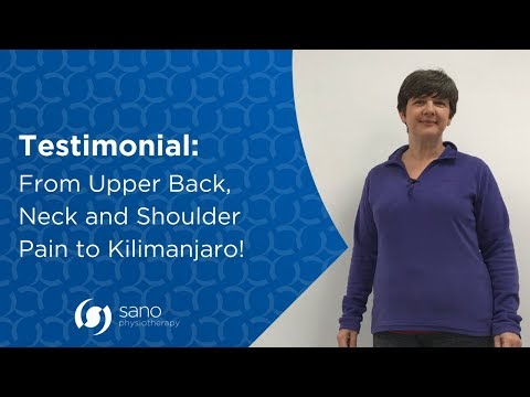 How Physiotherapy Helped my Upper Back, Neck & Shoulder Pain - Karen Brown