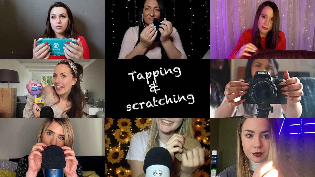 ASMR | Ultimate Tapping & Scratching COLLAB | No Talking