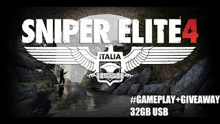 Sniper Elite 4 Kill the Sniper gameplay GTX 980Ti Gaming 6G(Giveaway 32gb usb+NFS Payback)