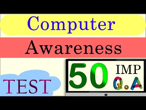 Computer Awareness Questions and Answers - YouTube