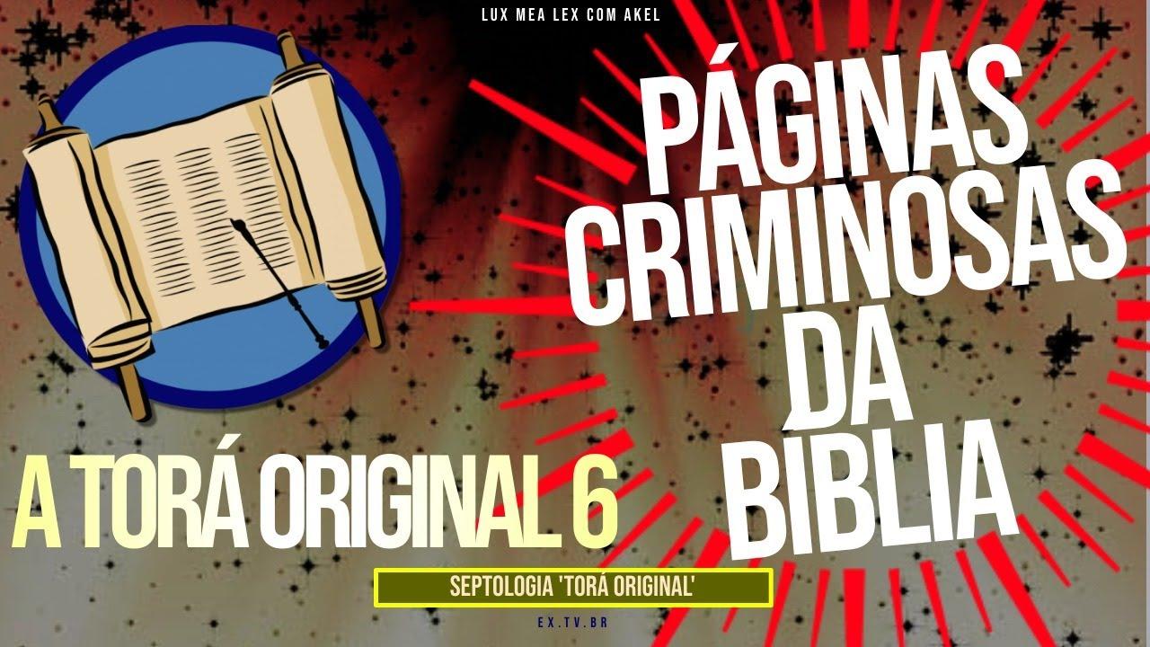 📜Páginas CRIMINOSAS da BÍBLIA! | A #LEI ORIGINAL | SEPTOLOGIA 6
