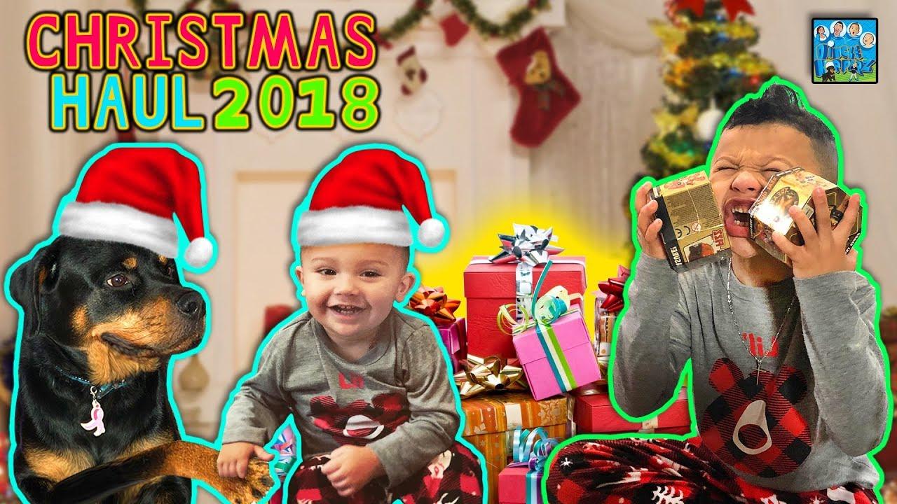 Funnel Vision Christmas 2020 Vlog DINGLE HOPPERZ CHRISTMAS PRESENT HAUL 2018 VLOG   YouTube