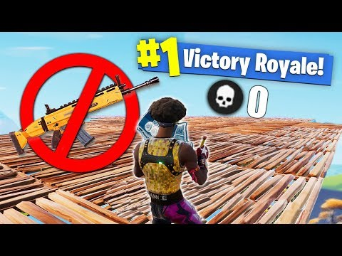 I WON Fortnite With NO WEAPONS!