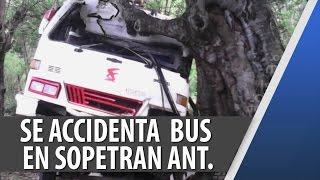 Accidente de Bus en Sopetrán Antioquia / Feb 06 2015 / Cosmovision Noticias