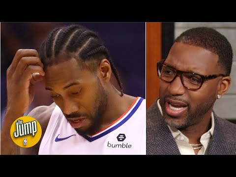 'The marquee matchup is tonight!': Tracy McGrady is upset Kawhi won't be playing Giannis | The Jump