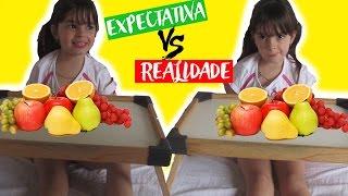 EXPECTATIVA VS REALIDADE - MINHA ROTINA DA MANHÃ | MY MORNING ROUTINE