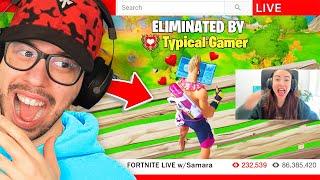 I Stream Sniped My Girlfriend's Tournament... (Fortnite)