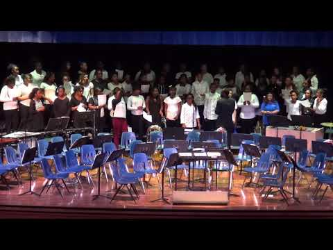Lindsay Middle School Chorus and Band Winter Concert 12-19-17