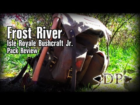 Frost River Isle Royale Bushcraft Jr  Pack Review