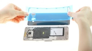 Samsung Galaxy A9(2016) Broken Back Glass Repair Guide