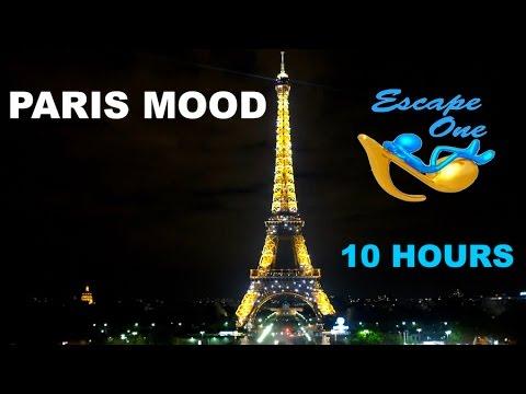 Romantic Jazz in Paris and Romantic Jazz Music: 10 HOURS of Romantic Jazz Music Instrumental