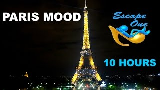 Romantic Jazz in Paris and Romantic Jazz Music: 10 HOURS of Romantic Jazz Music Instrumental