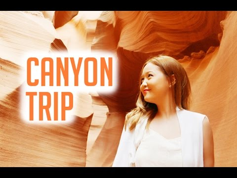 CANYONS VLOG: Grand Canyon, Horseshoe Bend, Antelope Canyon, Bryce Canyon, Zion Canyon