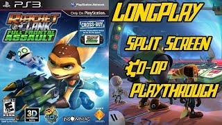 Ratchet & Clank Full Frontal Assault - Longplay 2 Player Split Screen Co-op Walkthrough Playthrough