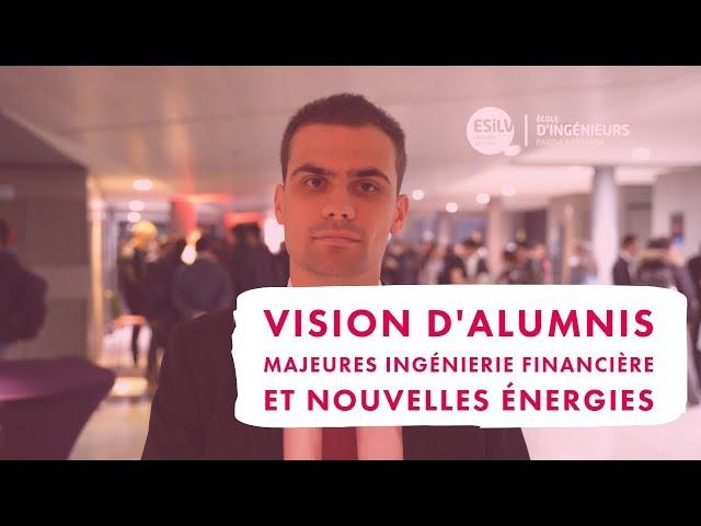 Questions aux alumnis des majeures Ingénierie Financière et Nouvelles énergie