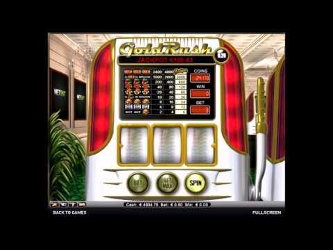 игровой автомат golden rush