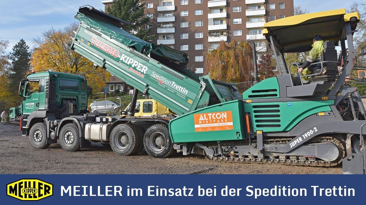 MEILLER Kipper im Einsatz bei der Spedition Trettin (Ultra HD, 4K)