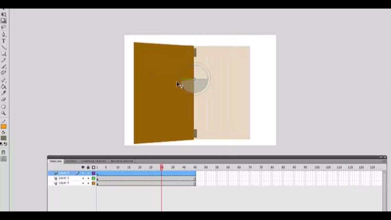 Open door closed door - How To Create An Opening Door Closing Door Animation In Adobe Flash Cs4 Cs5 Cs6