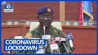 FULL VIDEO: Military Ready To Enforce COVID-19 Lockdown In Lagos, Abuja, Ogun – DHQ