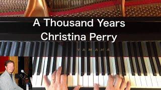 A Thousand Years - Christina Perri - Piano Cover