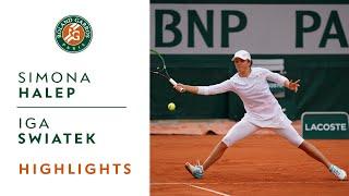 Simona Halep vs Iga Swiatek - Round 4 Highlights I Roland-Garros 2020
