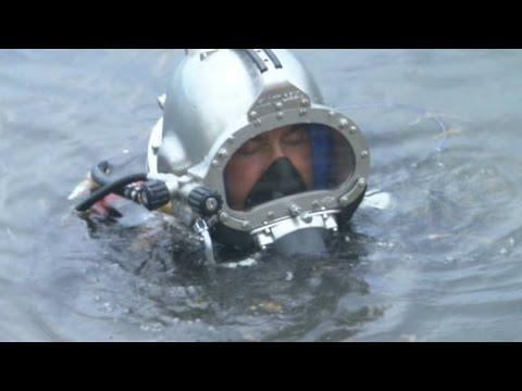 FBI's terror search goes under water