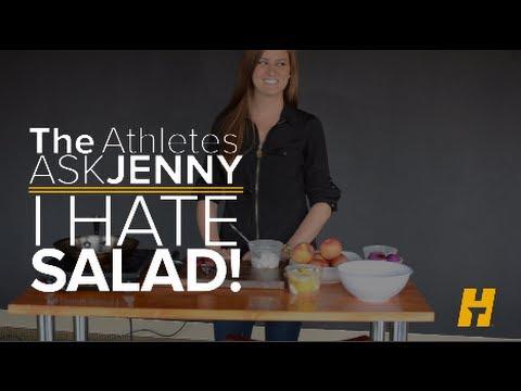 Ask Jenny: I Hate Salad! How should I get my Greens?