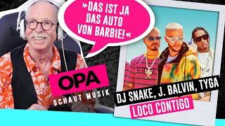 Gambar cover Opa schaut Musik - DJ Snake, J.Balvin, Tyga (Loco Contigo)